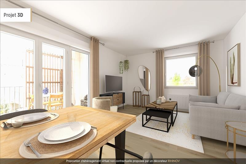 Vente Appartement BRUGES (33520) - 4 pièces - 77 m² -