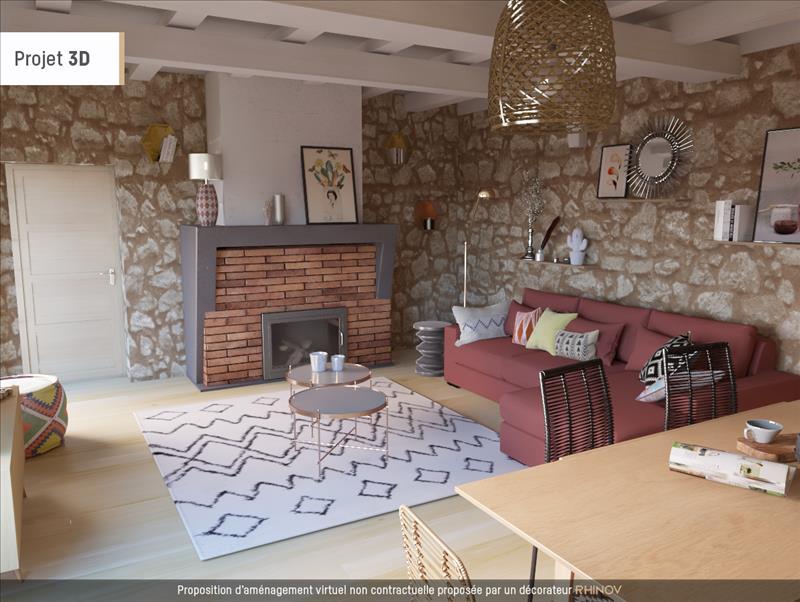 Vente Maison ST VINCENT DE PERTIGNAS (33420) - 3 pièces - 74 m² -