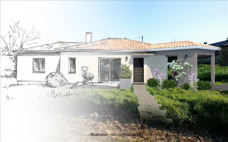 Vente Terrain FRONTENAC (33760) - 667 m² -