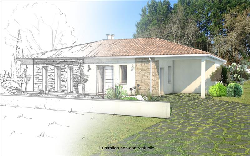 Vente Terrain RAUZAN (33420) - 1300 m² -