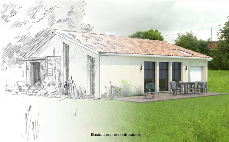 Vente Terrain LESPARRE MEDOC (33340) - 838 m² -