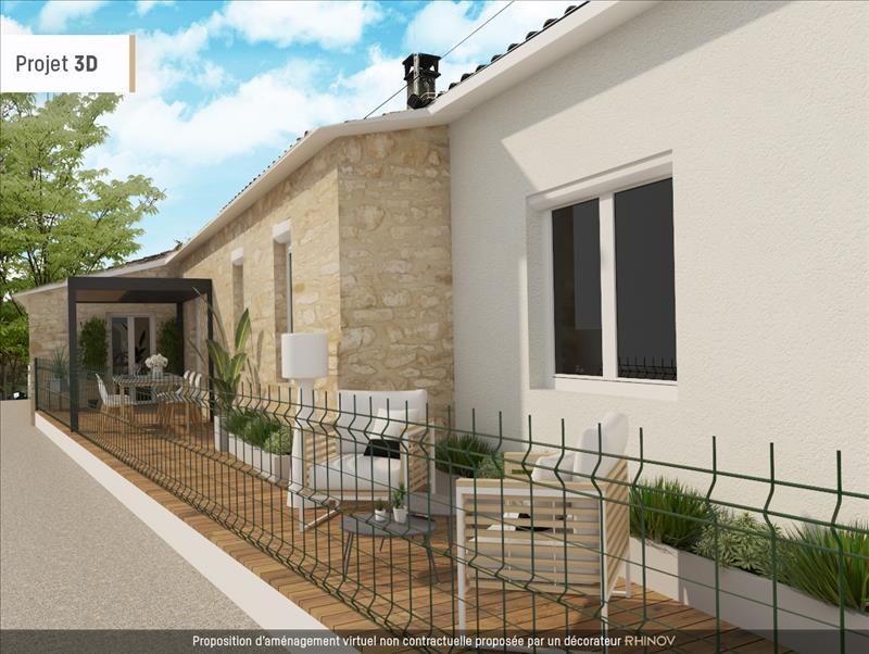 Vente Maison BEGADAN (33340) - 6 pièces - 137 m² -