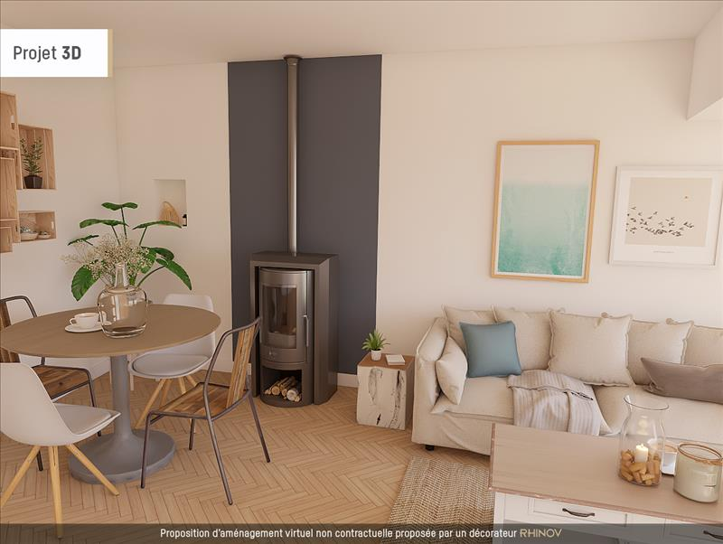 Vente Maison COZES (17120) - 4 pièces - 107 m² -