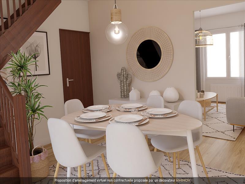 Vente Maison BORDEAUX (33100) - 4 pièces - 81 m² - Quartier Bastide