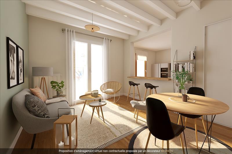 Vente Maison BORDEAUX (33100) - 2 pièces - 54 m² - Quartier Bordeaux|Bastide