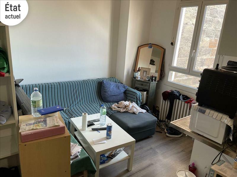 Vente Appartement BORDEAUX (33100) - 1 pièce - 22 m² - Quartier Bordeaux Bastide