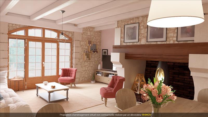 Vente Maison LA CHAPELLE FAUCHER (24530) - 7 pièces - 338 m² -