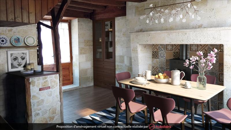 Vente Maison PAUSSAC ET ST VIVIEN (24310) - 3 pièces - 100 m² -