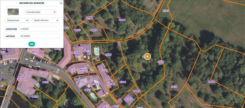 Vente Terrain BRANTOME EN PERIGORD (24310) - 3631 m² -