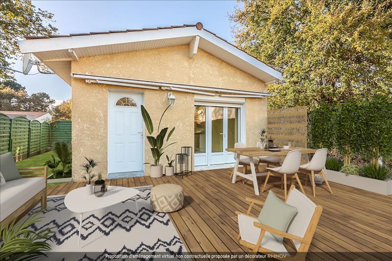 Vente Maison ARES (33740) - 3 pièces - 50 m² -