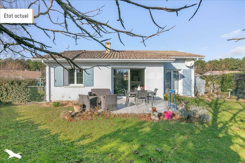Vente Maison ANDERNOS LES BAINS (33510) - 4 pièces - 83 m² -