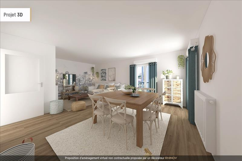 Vente Appartement CERGY (95800) - 3 pièces - 71 m² - Quartier Cergy|Axe Majeur - Horloge