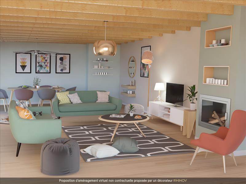 Vente Maison CHAUNAC (17130) - 5 pièces - 154 m² -