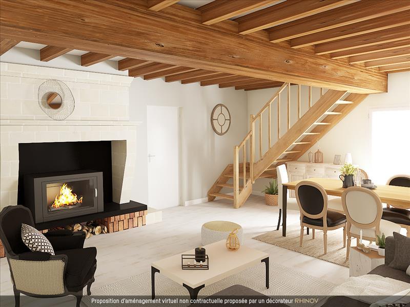 Vente Maison CHEPNIERS (17210) - 5 pièces - 140 m² -