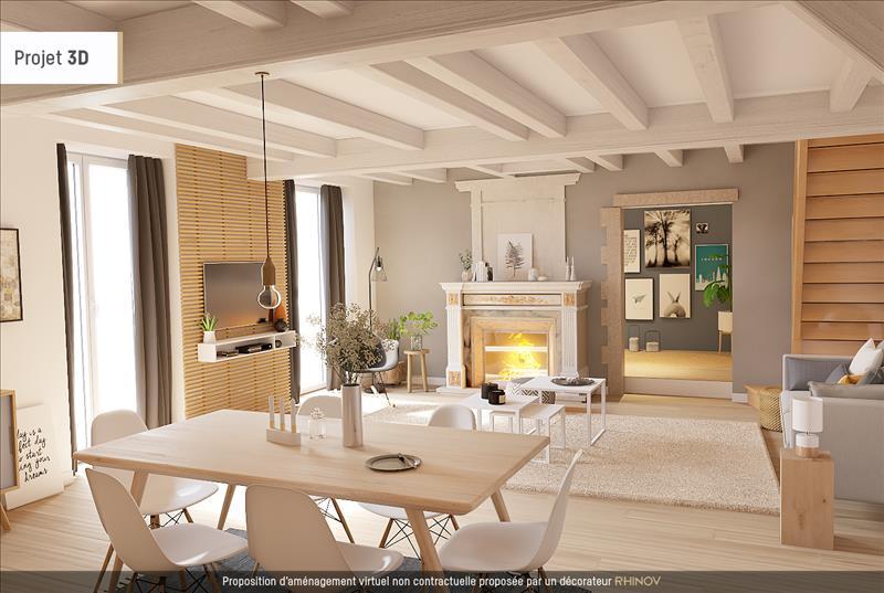 Vente Maison ST SIMON DE BORDES (17500) - 7 pièces - 210 m² -