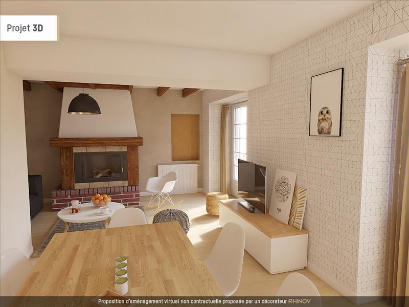 Vente Maison ST GERMAIN DE LUSIGNAN (17500) - 4 pièces - 99 m² -