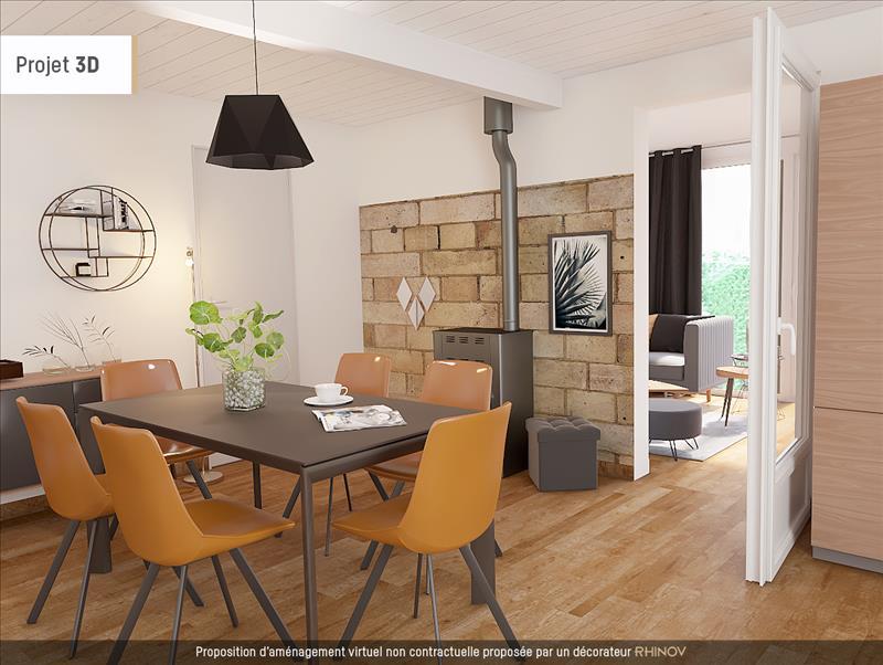 Vente Maison ST SELVE (33650) - 4 pièces - 103 m² -