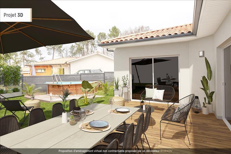 Vente Maison AYGUEMORTE LES GRAVES (33640) - 4 pièces - 100 m² -