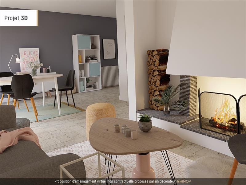 Vente Maison BEAUPUY (47200) - 6 pièces - 124 m² -
