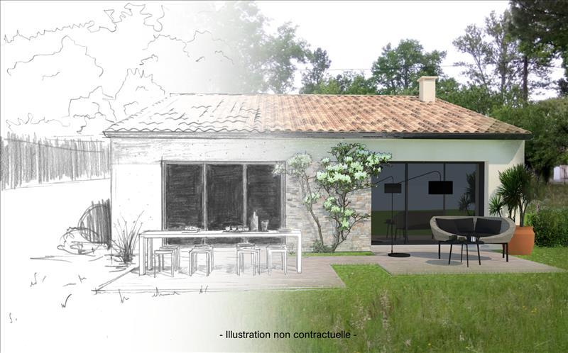 Vente Terrain LEOGNAN (33850) - 600 m² -