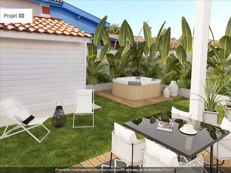 Vente Maison ARCACHON (33120) - 4 pièces - 90 m² -