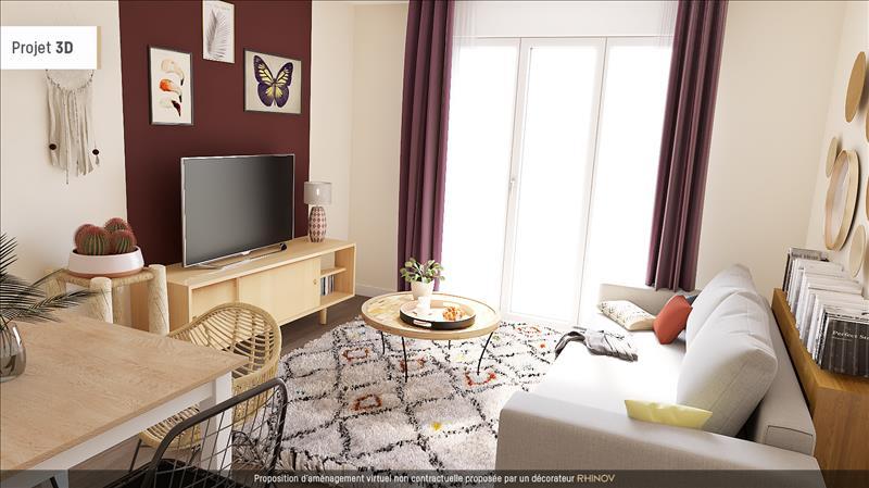 Vente Appartement CHANTELOUP LES VIGNES (78570) - 2 pièces - 42,91 m² -