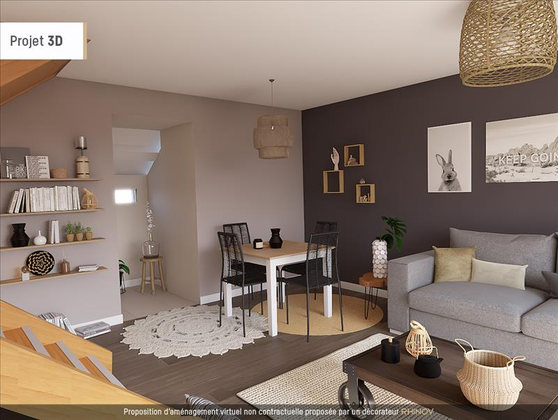 Vente maison maurecourt 78780 3 pi ces 85 m 95 1939 for Simulation 3d maison