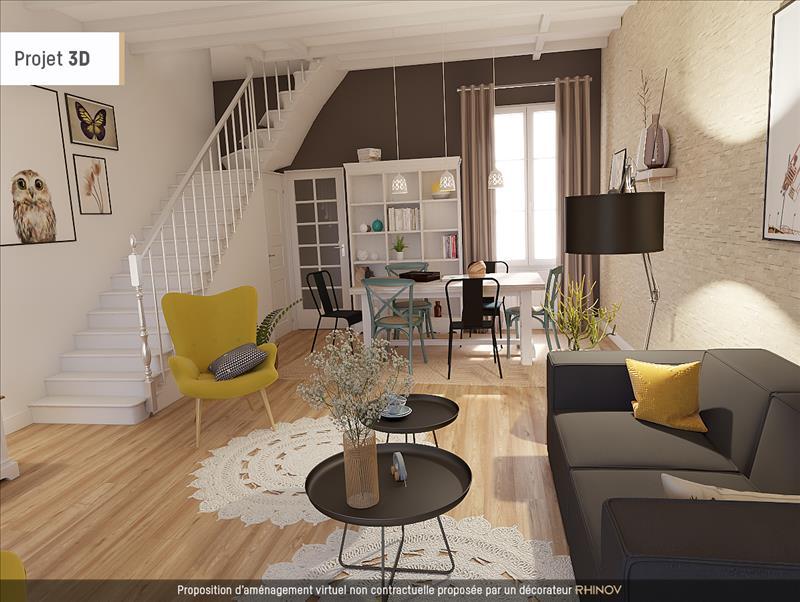 Vente Maison SAINTES (17100) - 3 pièces - 70 m² - Quartier La Gare - Sébastien de Brouard - La Fenêtre