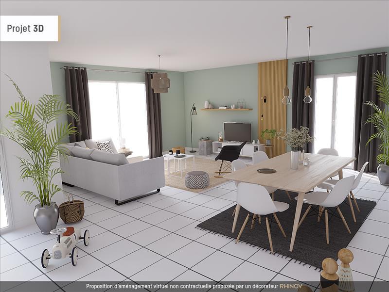 Vente Maison SAINTES (17100) - 6 pièces - 160 m² - Quartier Geoffroy Martel - Saint-Sorlin la Récluse - Terrefort
