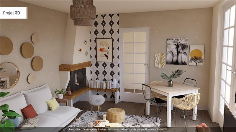 Vente Maison ST GEORGES DES COTEAUX (17810) - 7 pièces - 92 m² -