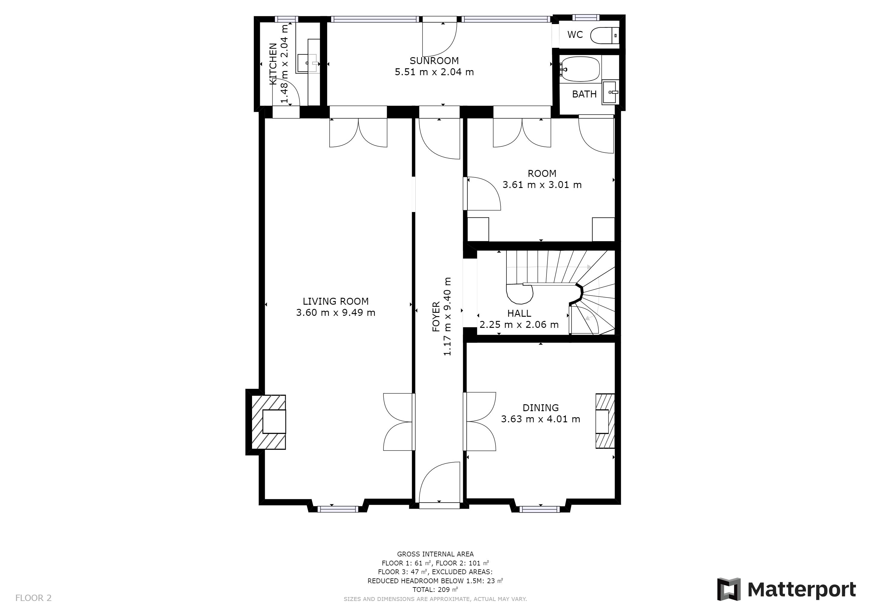 Vente Maison BORDEAUX - 5 pièces - 111 m² - (33000)