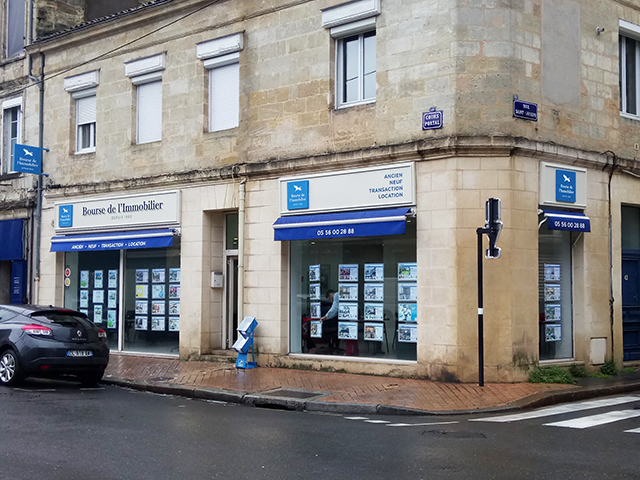 Agences immobili res bourse de l 39 immobilier for Immobilier chartrons bordeaux